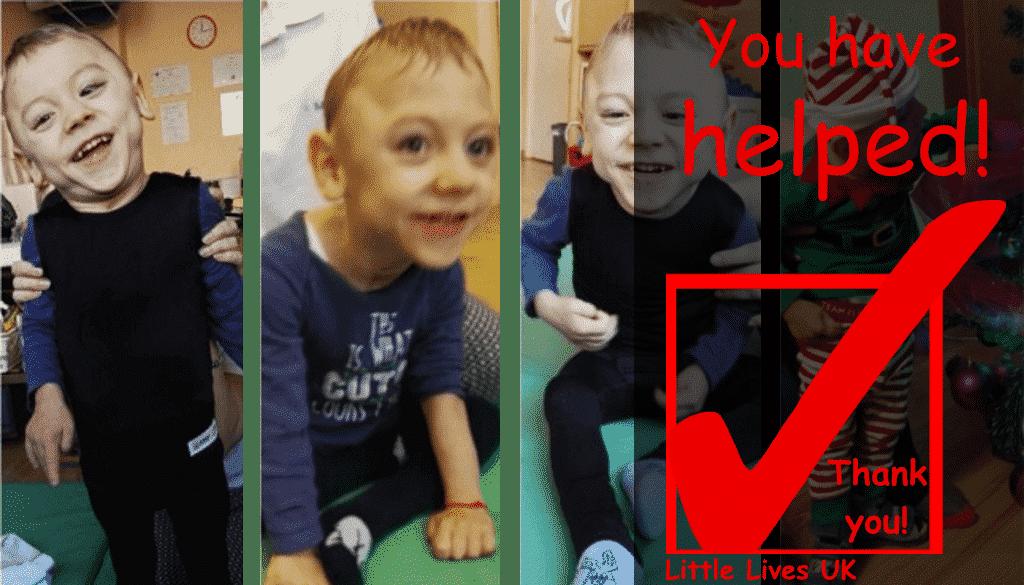 Help Lucas Walk