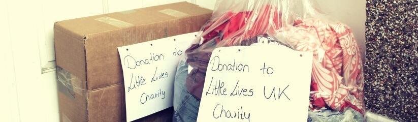charity clothes collection