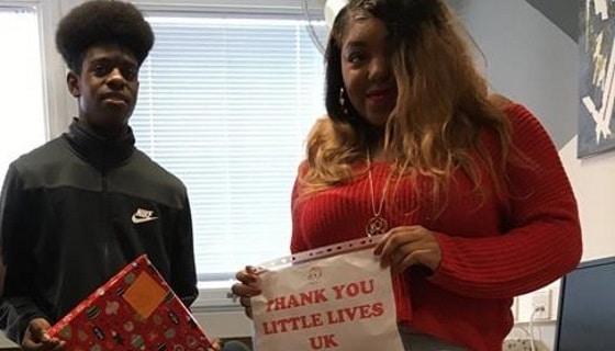Lambeth Academy - gift drive