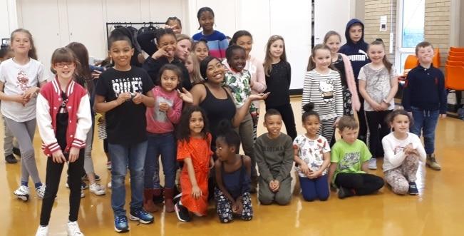 Easter holidays dance class