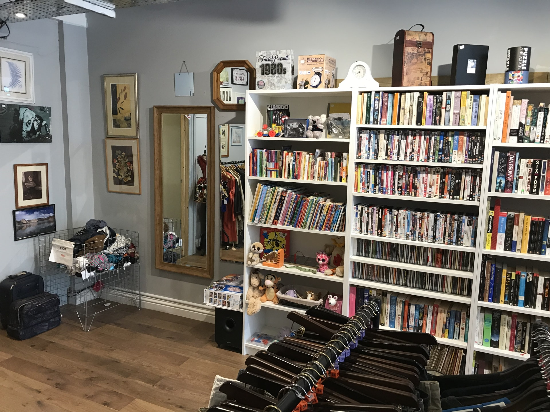 Books, DVD's and toys