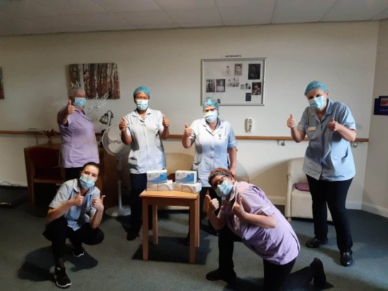 Vital donation of PPE to our local care homes