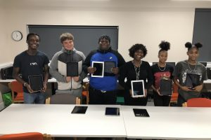 Uptown Youth Group Donation Tablets Donation