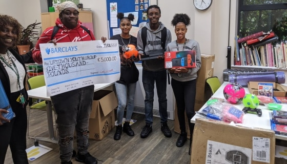 Youth Services donation