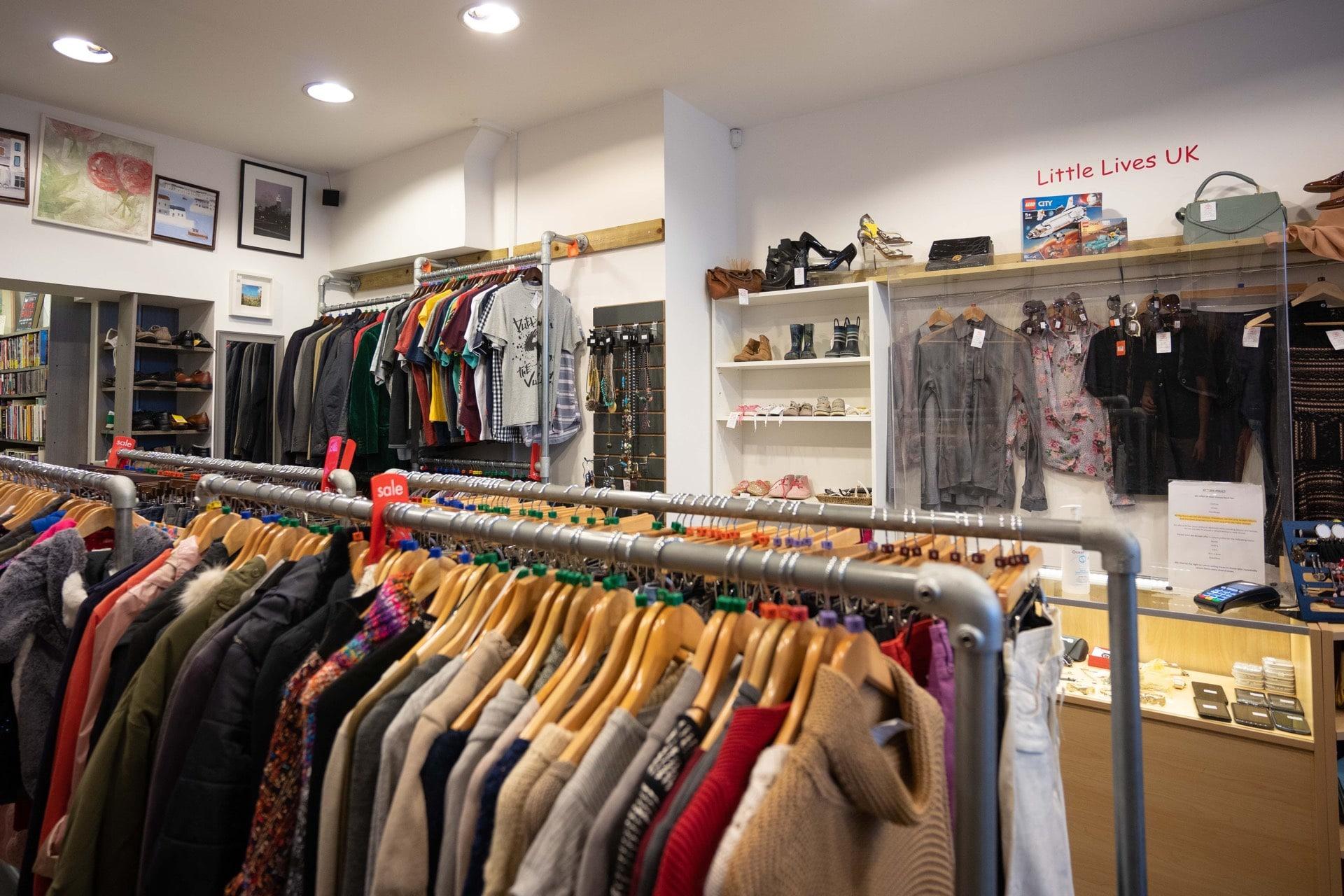 Charity shop Fulham Broadway