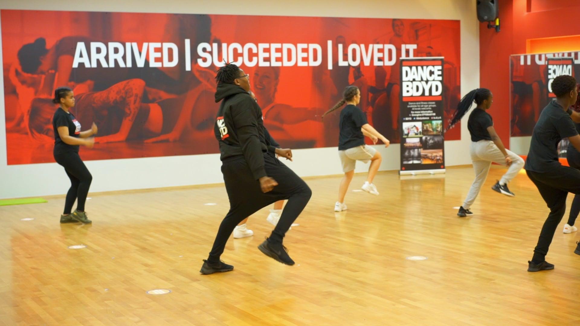 Barking & Dagenham Youth Dance' Street Dance Fitness project